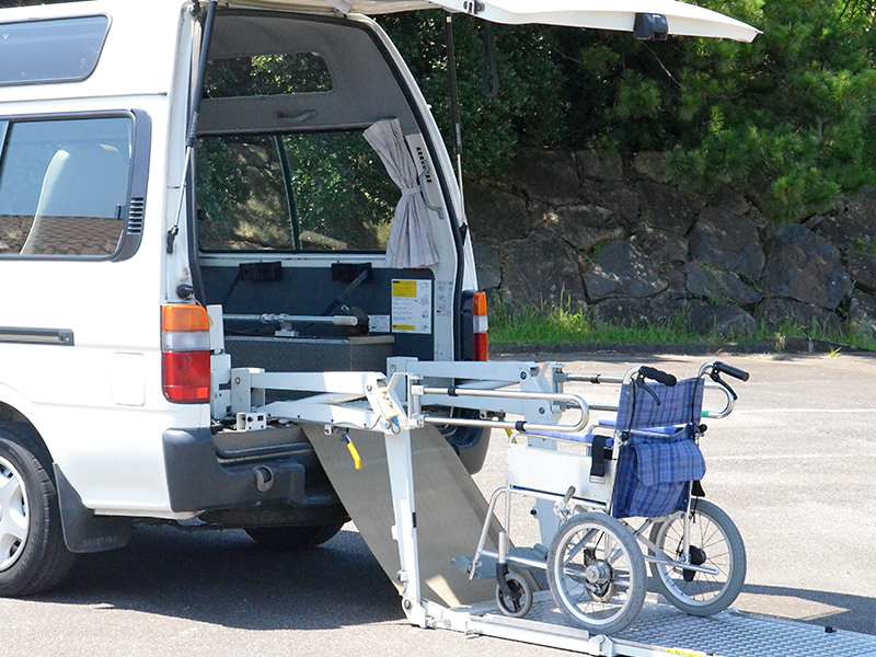 車椅子の積込み1